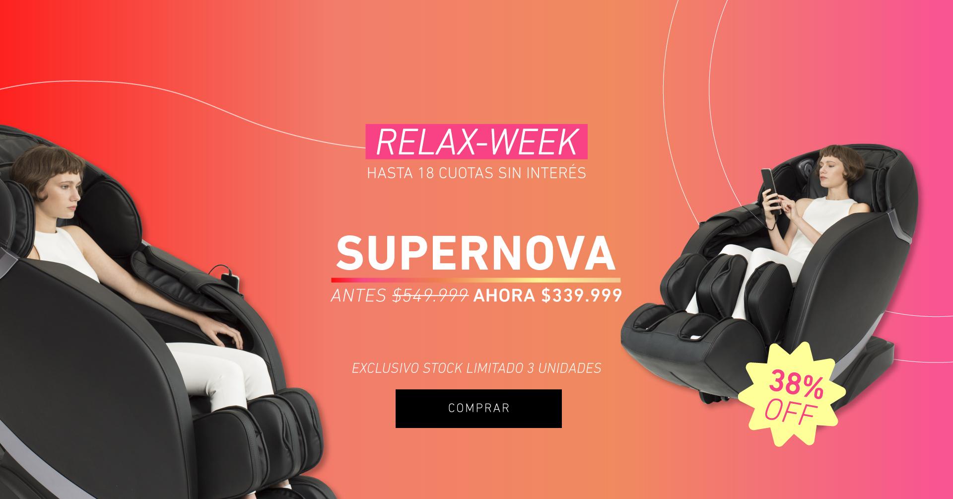 RelaxWeek Supernova